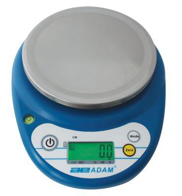 Compacte weegschaal van de serie CB, met batterijvoeding, incl. LCD-display, capaciteit 1 kg