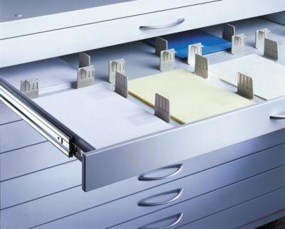 Compartimentverdeler, geschikt voor alle plankenkasten