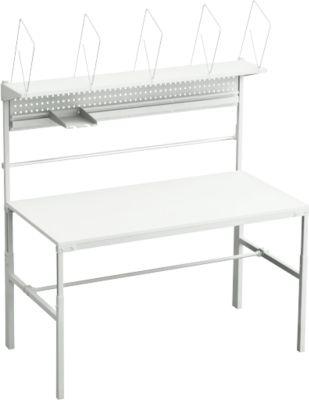 Compleet assortiment van verpakkingstafel TPB, breedte 1500 mm, in hoogte verstelbaar, belasting 30 kg