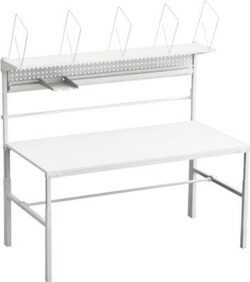 Compleet assortiment van verpakkingstafel TPB, breedte 1800 mm, in hoogte verstelbaar, belasting 30 kg