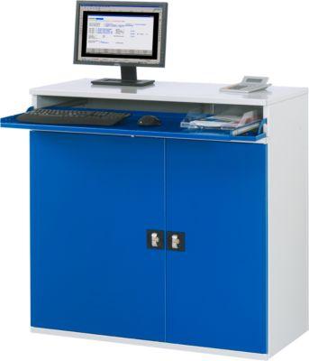 Computer-Schrank Typ 1100T-M60, B 1100 x T 520 x H 1060 mm, stationär