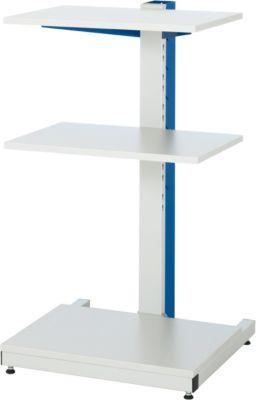 Computer-Ständer Typ 6001, B 650 x T 650 x H 1150 mm, stationär