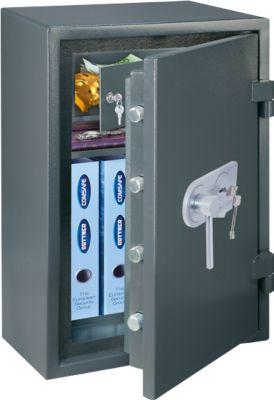 COMSAFE Wertschutzschrank, Atlas EN 1 Premium, feuersicher, anthrazit, Doppelbartschloss