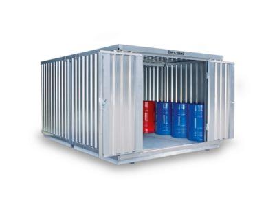 Container-combinatie SAFE TANK 2000, voor passieve opslag