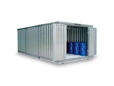 Container-combinatie SAFE TANK 3000, voor passieve opslag