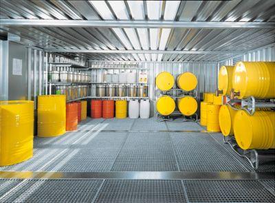 Container-combinatie SAFE TANK 5000, voor passieve opslag