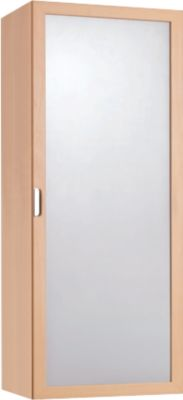 Corpus met deur en 2 legborden voor BALTON B III chromen stelling, b 430 x d 380 x h 1130 mm