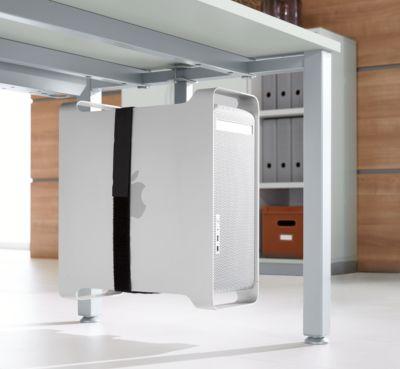 CPU-Halter, zur Befestigung am Tischgestell, passend zum Tischsystem MODENA FLEX