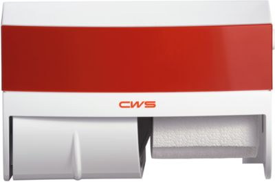 CWS Toiletpapierhouder Paradise, rood
