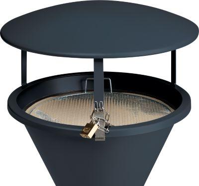 Dach für Standascher, graphit