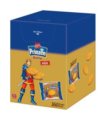 De Beukelaer Mini Prinzenrolle, 160 individuele verpakkingen, 7,5 g elk, 160 stuks