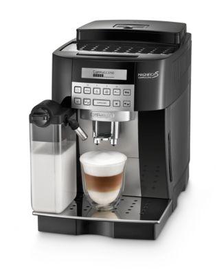 De'Longhi Kaffeevollautomat Magnifica S Cappuccino ECAM 22.366.B, für Bohnen/Pulver, Milchaufschäumer