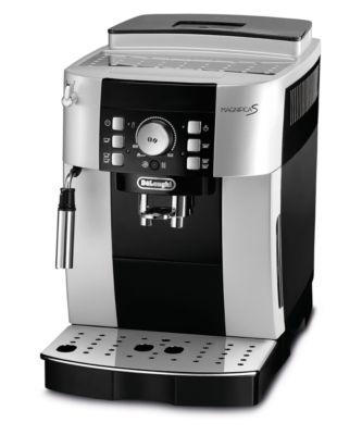 De'Longhi Kaffeevollautomat Magnifica S ECAM 21.116.SB, für Bohnen/Pulver, Milchaufschäumer, silber