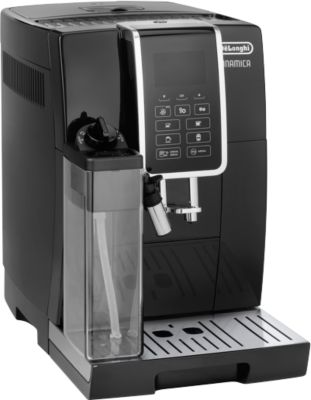 De'Longhi volautomatische koffiemachine ECAM 350.55.B Dinamica, zwart, 1450 W, zwart