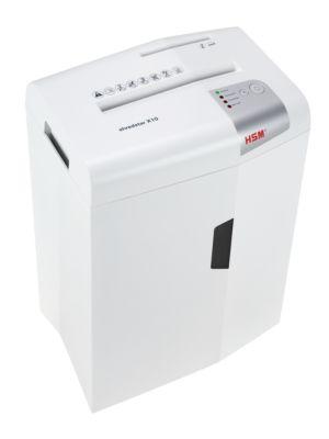 Déchiqueteuse de documents HSM Shredstar X10, coupe de particules 4,5 x 30 mm, avec barre de coupe CD