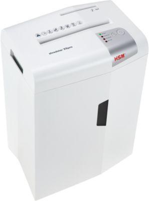Déchiqueteuse de documents HSM shredstar X6pro, coupe CD séparé, coupe-particules, P-5, DIN A4, 6 feuilles Capacité de coupe