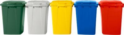 Deckel für Abfallbehälter 90 Liter, grau