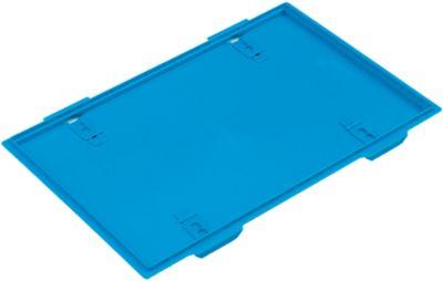 Deckel für Faltbox 600 x 400 mm, blau
