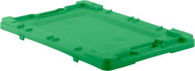 Deckel für Kasten im EURO-Maß EFB 642/643/644, grün