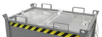 Deckel, für Klappbodenbehälter FB 2000, verzinkt