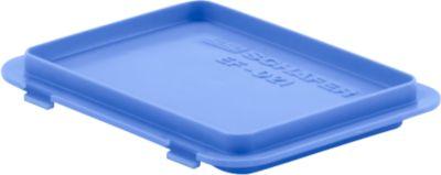 Deckel mit Haken EF-DH 21 für Kasten im EURO-Maß, blau