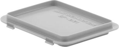 Deckel mit Haken EF-DH 21 für Kasten im EURO-Maß, grau