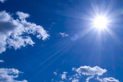 Deckensegel, Sonne, 1200x800 mm