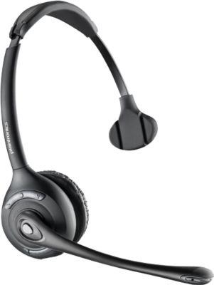 DECT-Headset Plantronics CS510, schnurlos/monaural, inkl. Telefonadapter APS-11, 120 m Reichweite