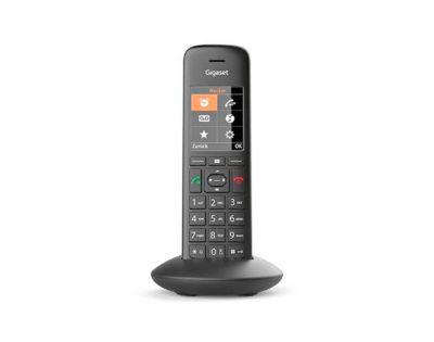 DECT Universal Mobilteil Gigaset C570HX, schnurlos, mit Ladeschale, schwarz