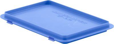 Deksel met haak EF-D32, , blauw (voor bakken van de serie 300)