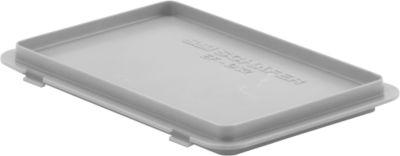 Deksel met haak EF-D32, grijs (voor bakken van de serie 300)