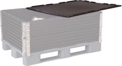 Deksel voor pallet-opzetframe, 800 x 1200 mm