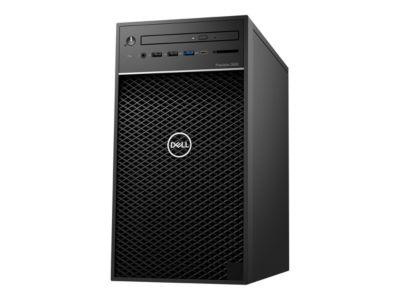 Dell Precision 3630 Tower - MT - Xeon E-2174G 3.8 GHz - 16 GB - 256 GB