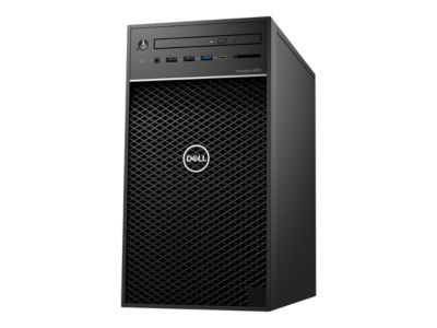 Dell Precision 3630 Tower - MT - Xeon E-2174G 3.8 GHz - 8 GB - 256 GB - mit 1 Jahr ProSupport NBD