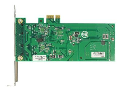 DeLOCK PCI Express Card > 2 x 1 Gigabit LAN PoE+ RJ45 - Netzwerkadapter