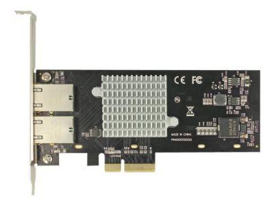 DeLOCK PCI Express Card > 2 x 10 Gigabit LAN RJ45 - Netzwerkadapter