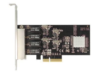 DeLOCK PCI Express Card > 4 x Gigabit LAN - Netzwerkadapter