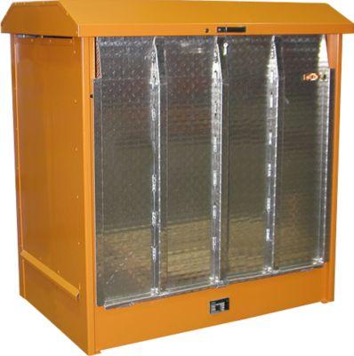 Depot voor gevaarlijke stoffen van het type GD-N/R2, oranje RAL2000