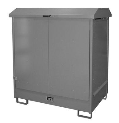 Depot voor gevaarlijke stoffen van het type GD-N2, grijs RAL 7005