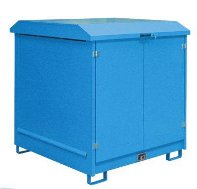 Depot voor gevaarlijke stoffen van het type GD-N4, blauw RAL5012