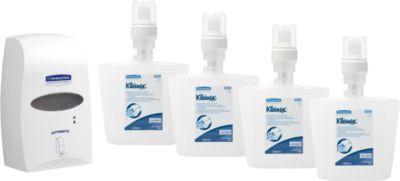 Desinfektionsspender Kimberly Clark Professional, berührungslos, Wandmontage + Gratis Nachfüllkartuschen