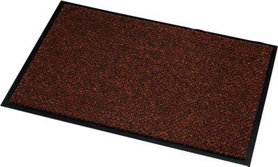 Deurmat Microvezel, B 900 x L 1500 mm, afwasbaar op 30 graden, bruin