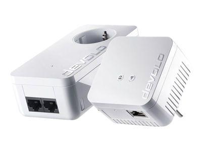 devolo dLAN 550 WiFi - Starter Kit - Bridge - 802.11b/g/n - an Wandsteckdose anschließbar