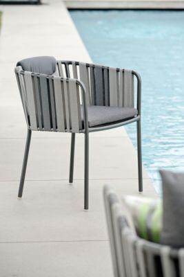 Dining-Sessel Space, 2-er Set, Gurtbespannung, Sitz- und Rückenkissen