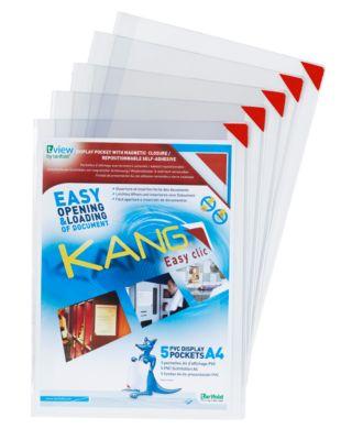 Displaymap Tarifold KANG, met magneetsluiting, voor staand & liggend formaat, DIN A4