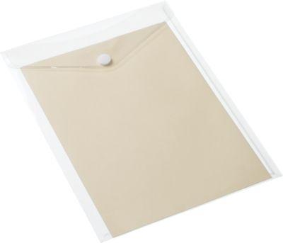 Documentenhoes A4 drukknopsluitend 5 st.