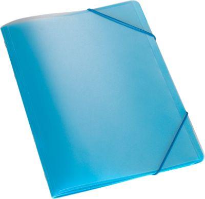 Documentmap A4, blauw