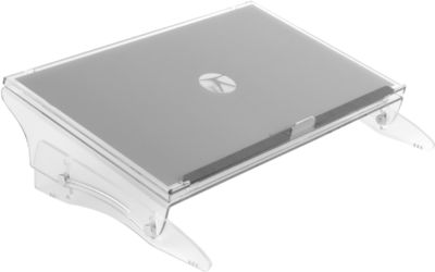 Dokumentenhalter FlexDesk 640, höhenverstellbar von 110 – 185 mm, aus Acryl