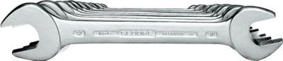 Doppelmaulschlüssel 12-teilig DIN 3110