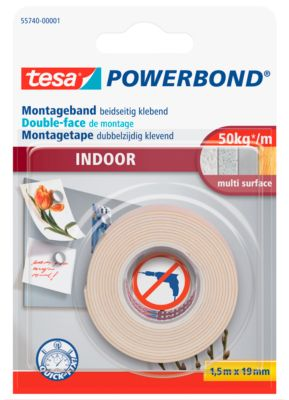 Doppelseitiges Klebeband tesa  Powerbond® Indoor
